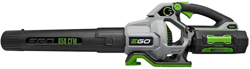 EGO 180 MPH Power+ 650 CFM Cordless Electric Blower includes G3 5.0Ah Battery and Charger