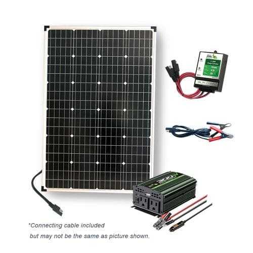 Nature Power 110 Watt  Solar Panel includes 11 Amp Charge Controller - 53110