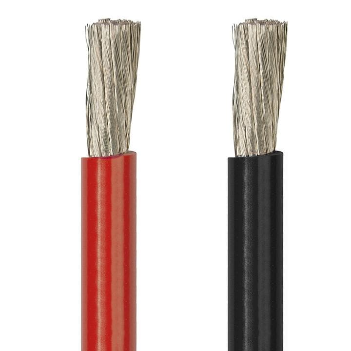 ACOPOWER 8AWG 8ft Ring to Bare Wire Cable