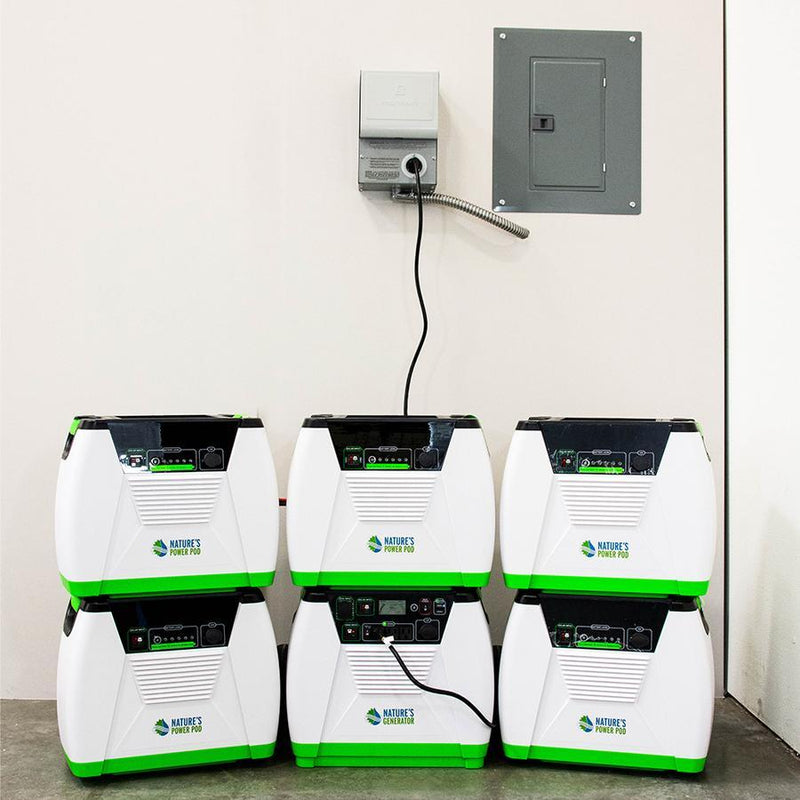 Nature's Generator Max 6.7 kWh Power Kit