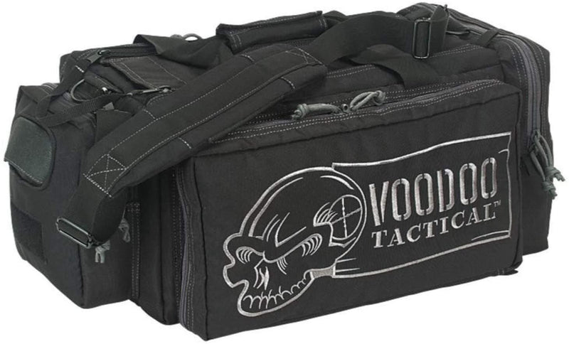 Voodoo Tactical Platinum Executive Series Range Bag - Black with Gray