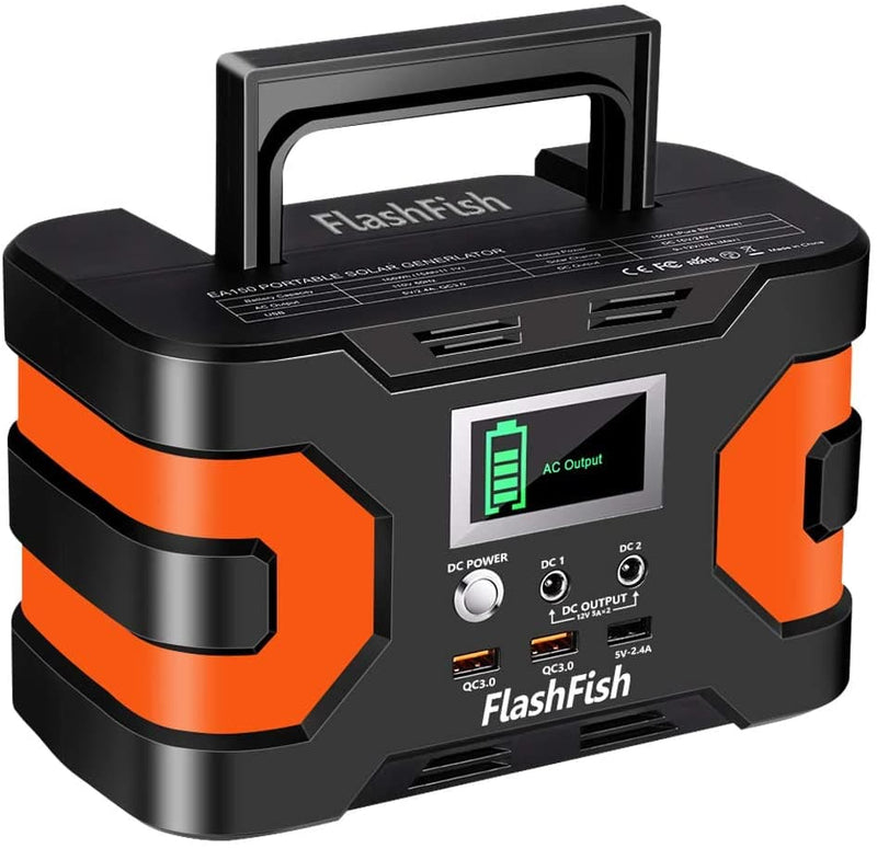 FlashFish 150W Portable Power Station