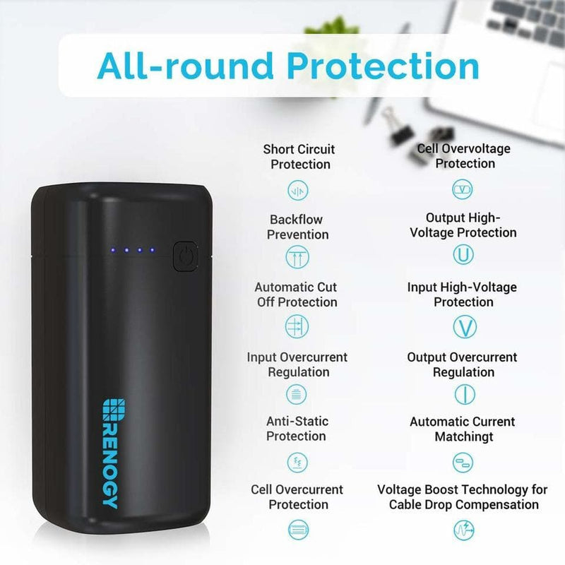 Renogy Portable Charger 20000mAh Power Bank