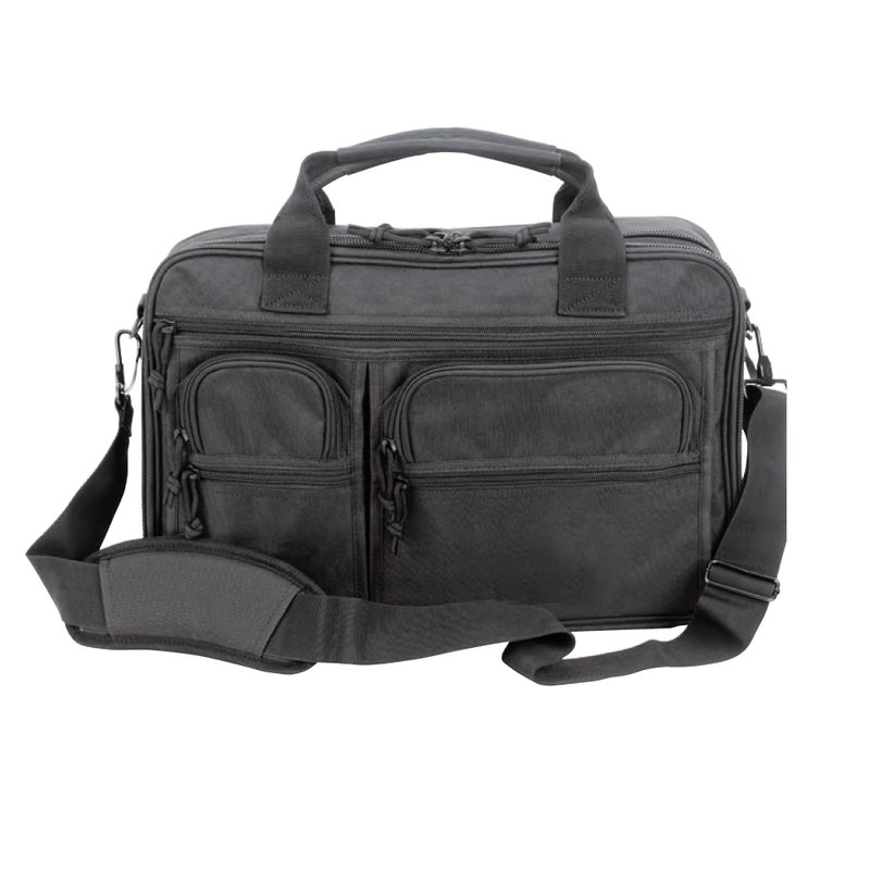 Voodoo Tactical Compact Pro-ops Briefcase - Black