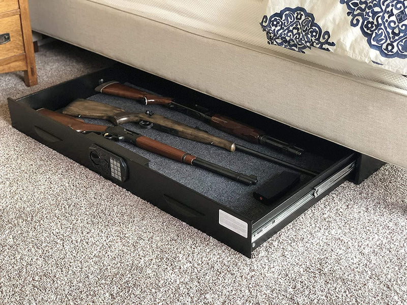 Monster Vault Low Profile Under Bed Gun Safe