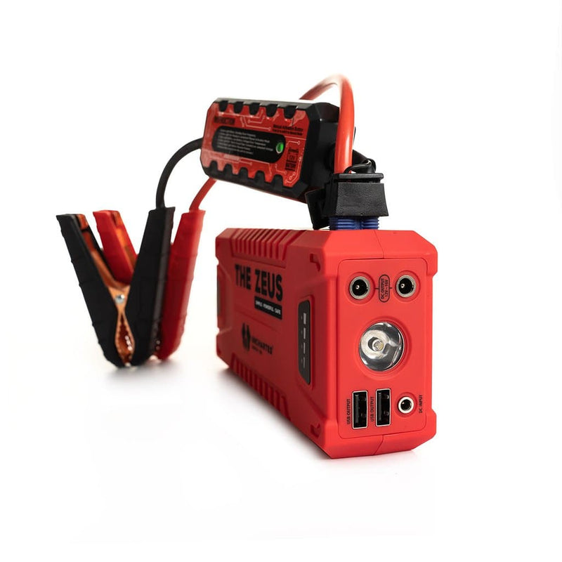 Uncharted Supply Co The Zeus Portable Jump Starter & USB Charger