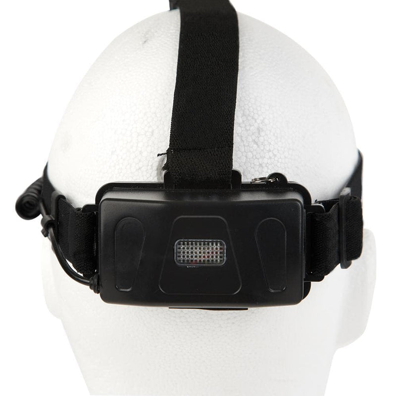 Guard Dog Security TactForce - 600 Lumens Rechargeable Headlamp w/ Zoom