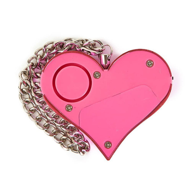 Guard Dog Security HeartBeat Keychain Alarm - 130dB Keychain Heart Bling Pull-to-Alarm