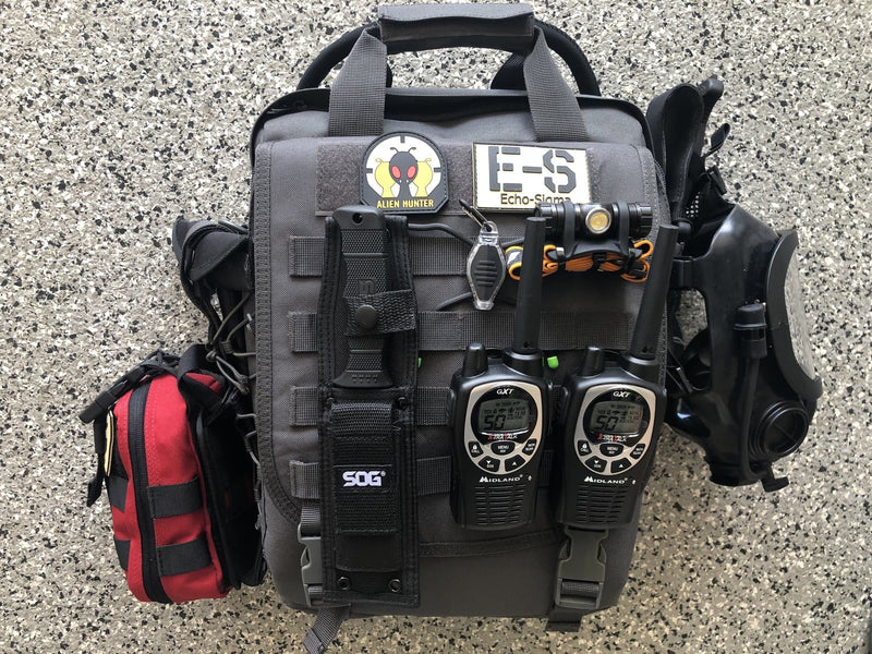 Echo-Sigma Alien Hunter Survival Bag