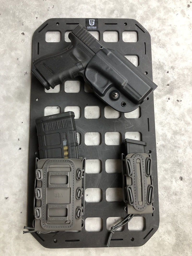 RMP Backer Plate™ [G-Code Soft Shell Scorpion Mag Carrier - Rifle] Pair