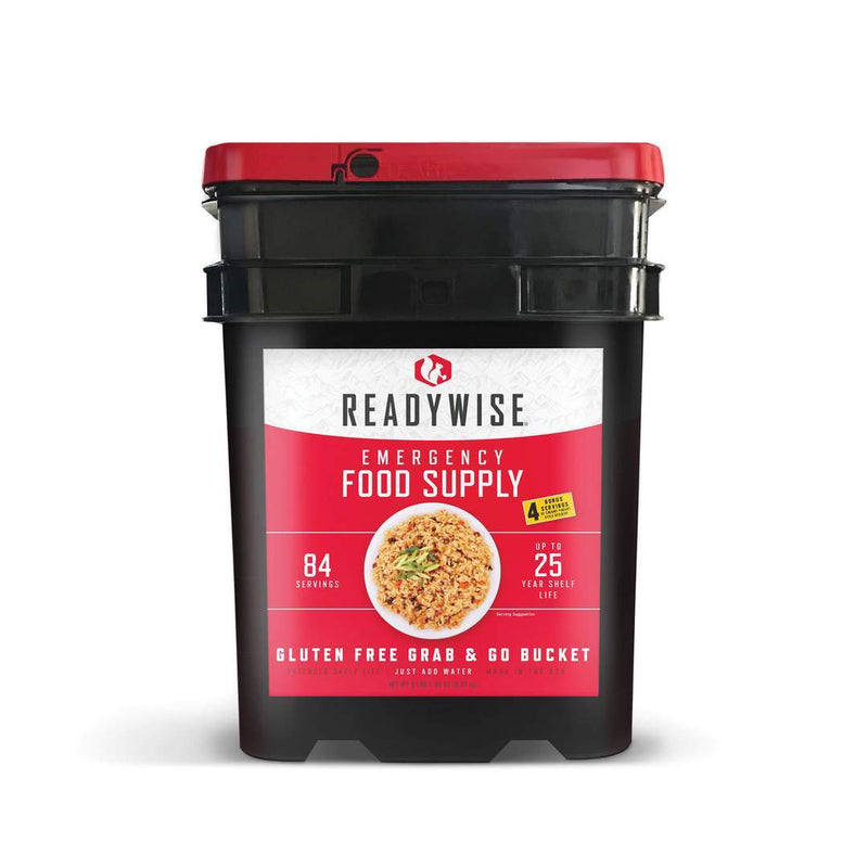 ReadyWise 84 Serving Gluten Free Grab and Go Bucket