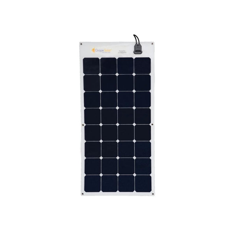 Grape Solar 100 Watt Flexible Monocrystalline Solar Panel