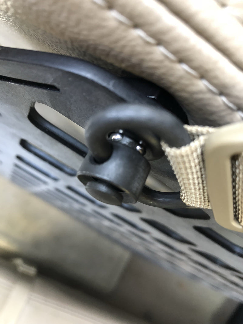 Push Button D-Ring RMP Straps™ [Headrest Post]