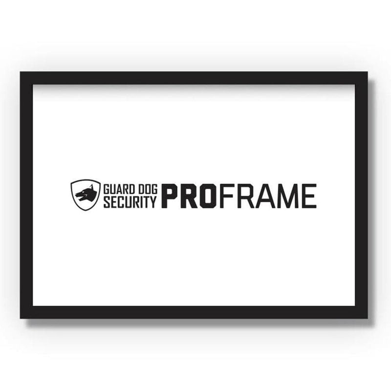 Guard Dog Security ProFrame - Bulletproof/Ballistic Picture Frame