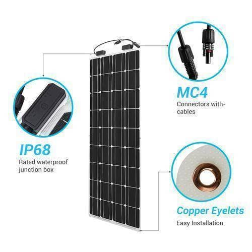 Renogy 100 Watt 12 Volt Flexible Solar Panel