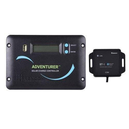 Renogy Adventurer Li - 30A PWM Flush Mount Charge Controller w/ LCD Display