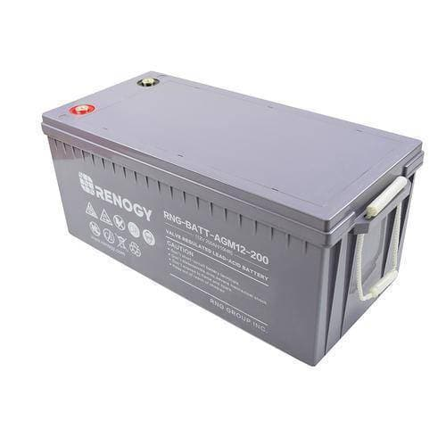 Renogy Deep Cycle AGM Battery 12 Volt 200Ah