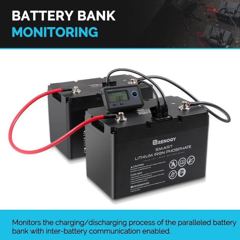 Renogy Monitoring Screen for Smart Lithium Battery Series