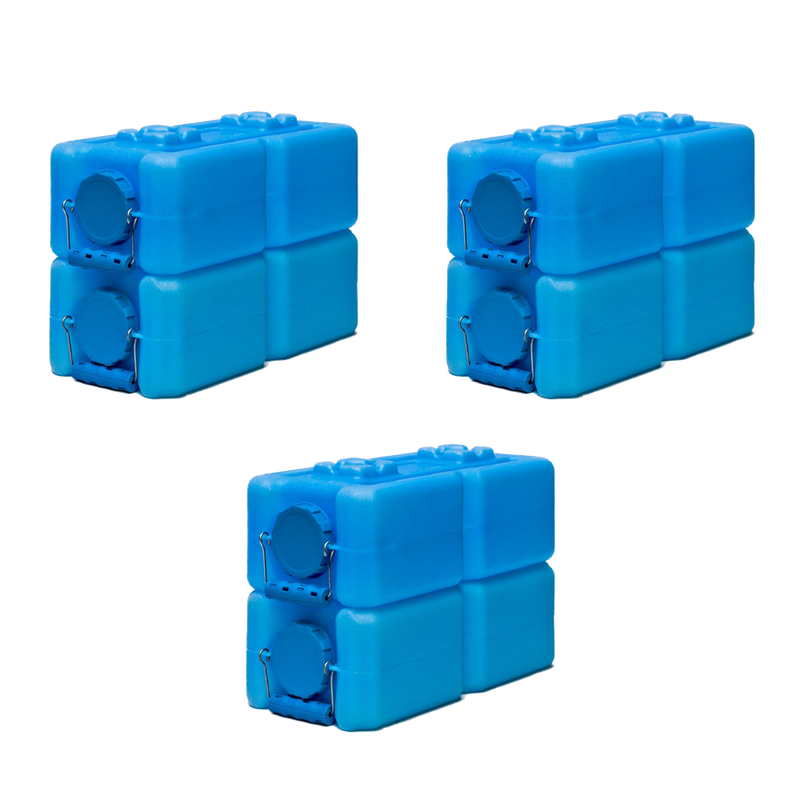 WaterBrick 3.5 Gallon 6 Pack