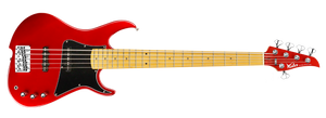 ZV5 Bass MF Ash Candy Apple Red
