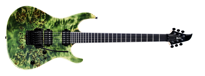 Ares FR BM Tribal Green Burl Satin