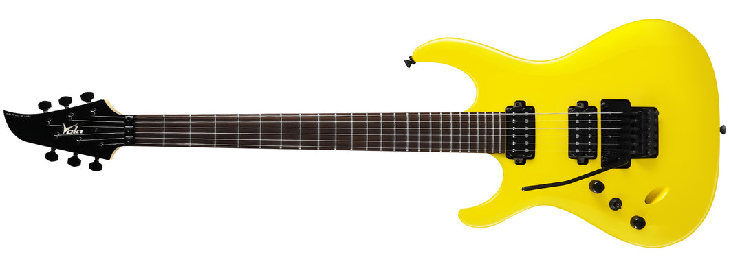 Luna FR RF Corvette Yellow Gloss Left Handed - Special Reduced Price