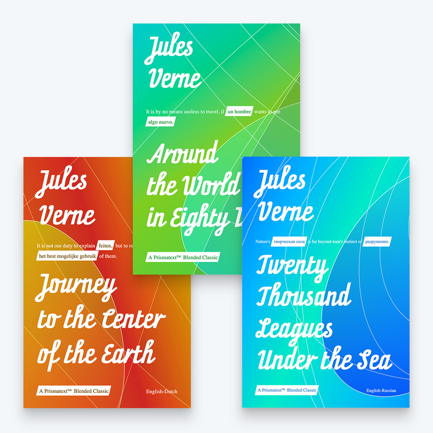 Jules Verne Book Bundle