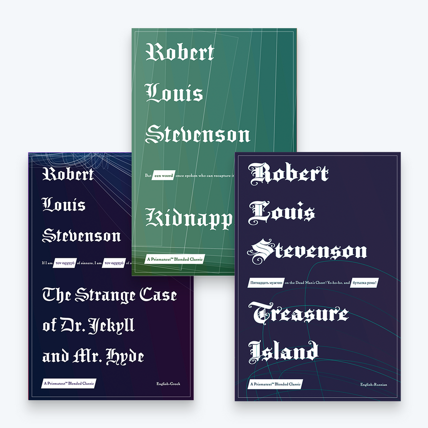Robert Louis Stevenson Book Bundle