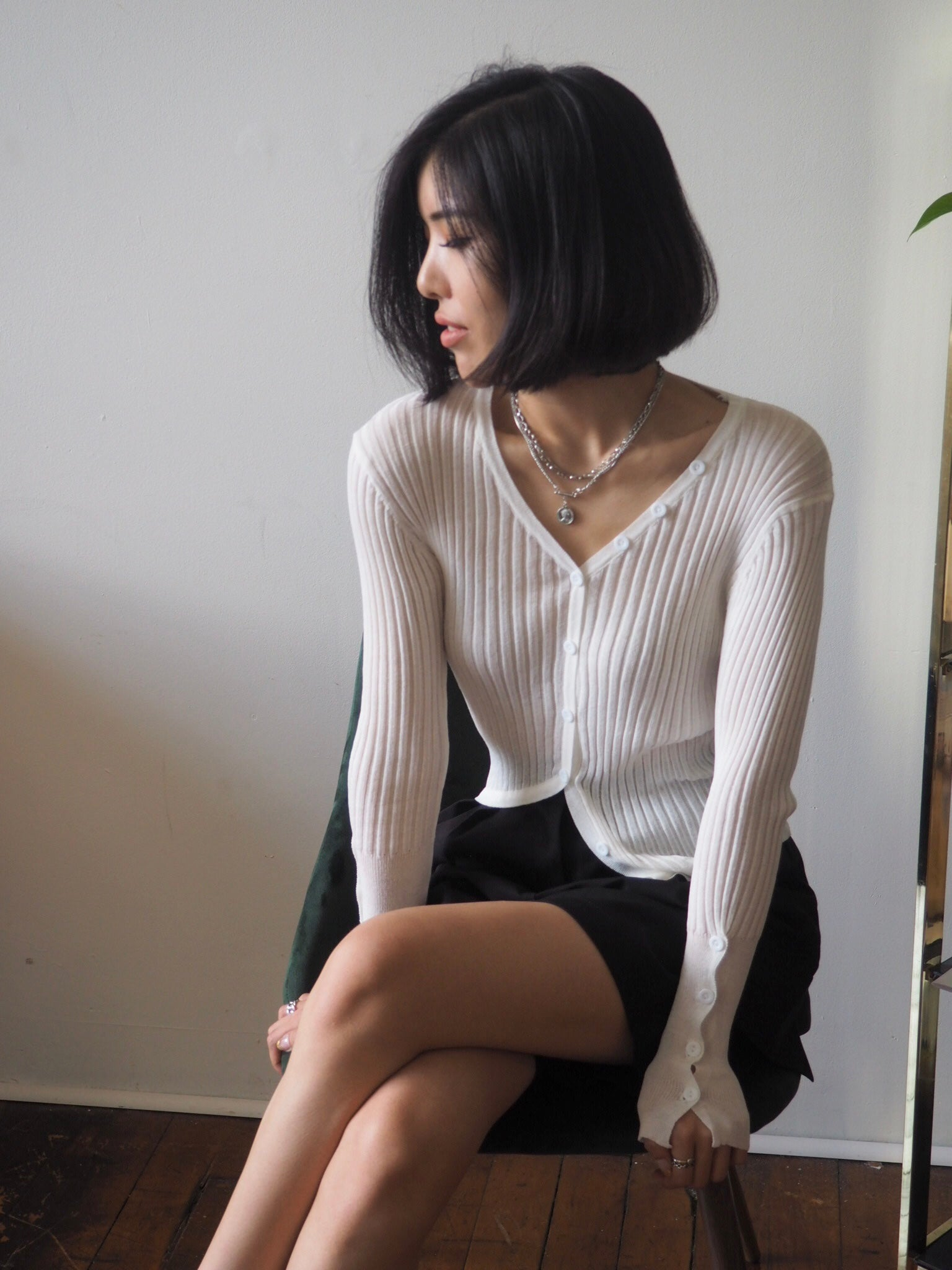 The Kendall Top White