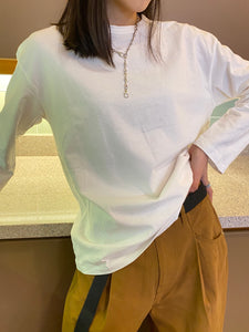 The Everyday Pull-over White