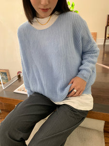 Le Brunch Sweater Baby Blue