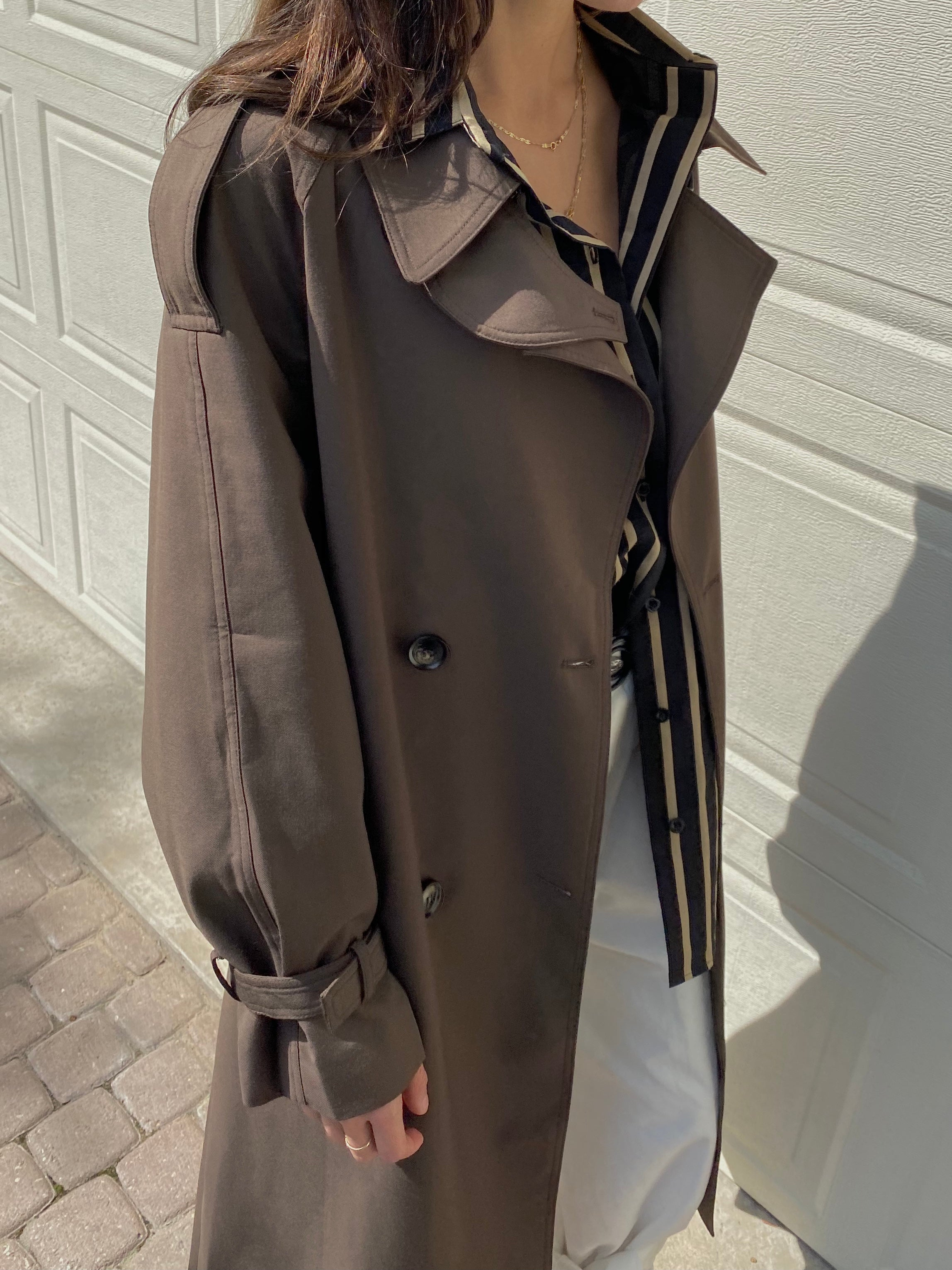 The London Trench Cocoa Brown