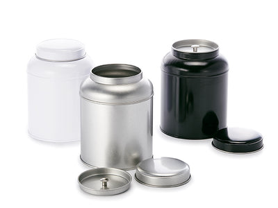 Round Tea Caddy