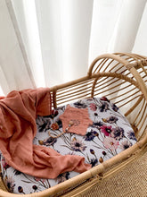 Load image into Gallery viewer, All About Aster Muslin Sheets - Bassinet