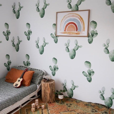 Cacti Wall Decals - Half Pack