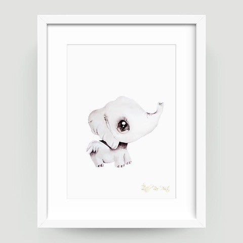 Effie the Elephant - A3