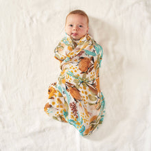 Load image into Gallery viewer, Wattle Wander Bamboo/Organic Cotton Swaddle