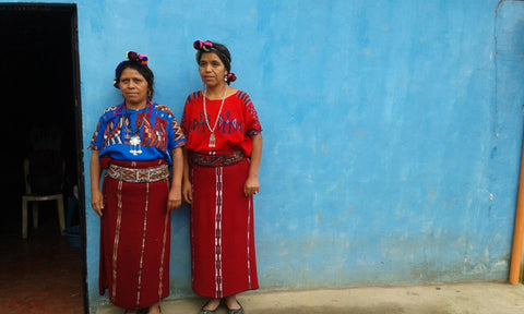 Traditional textile sourcing in Guatemala
