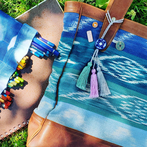 Fish Tote by Wild Shade Designs x Kakaw Designs