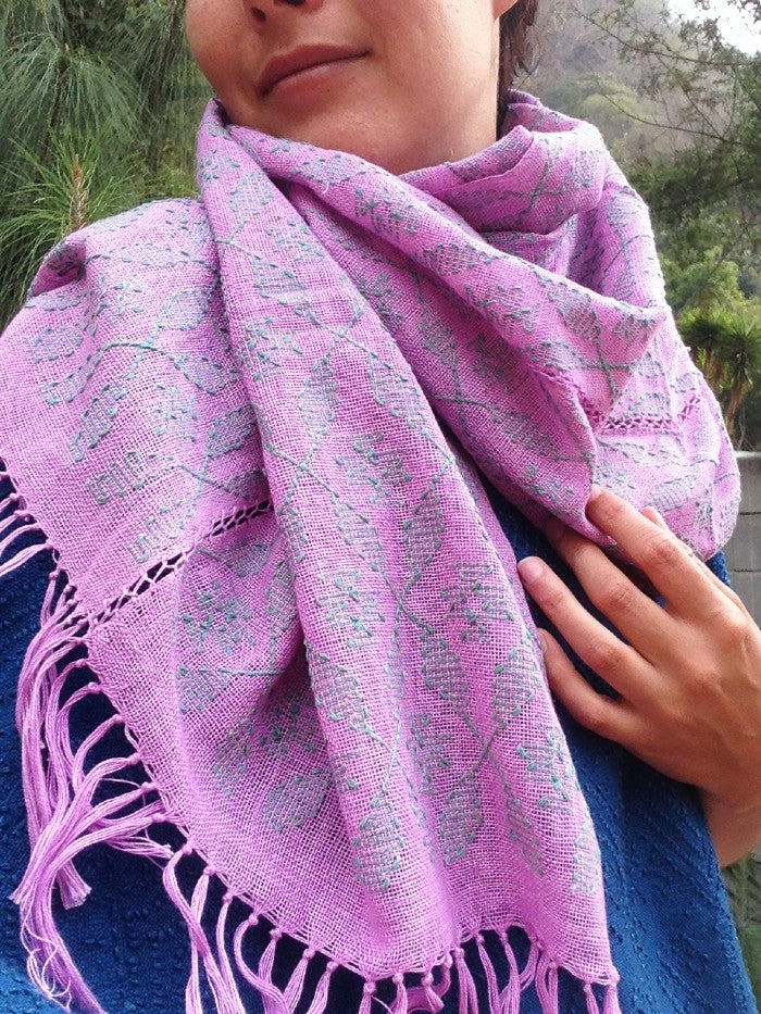 Picbil Shawl in Blush