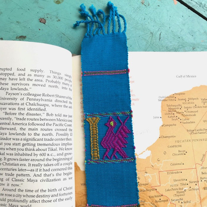 Handwoven Bookmarks: Set of Five