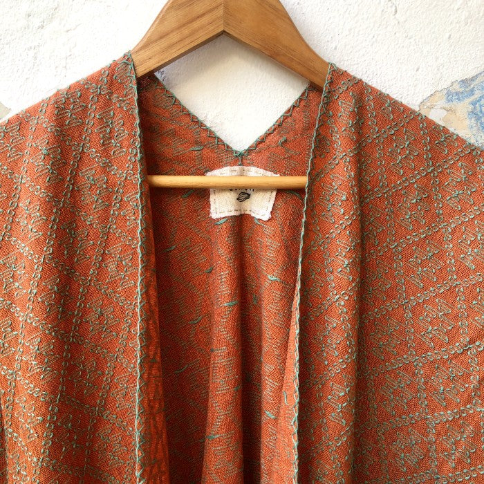Summer Cardigan 3 in Light Mahogany