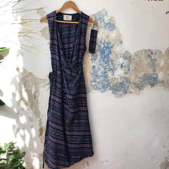 Corte Wrap Dress 4: size L/XL