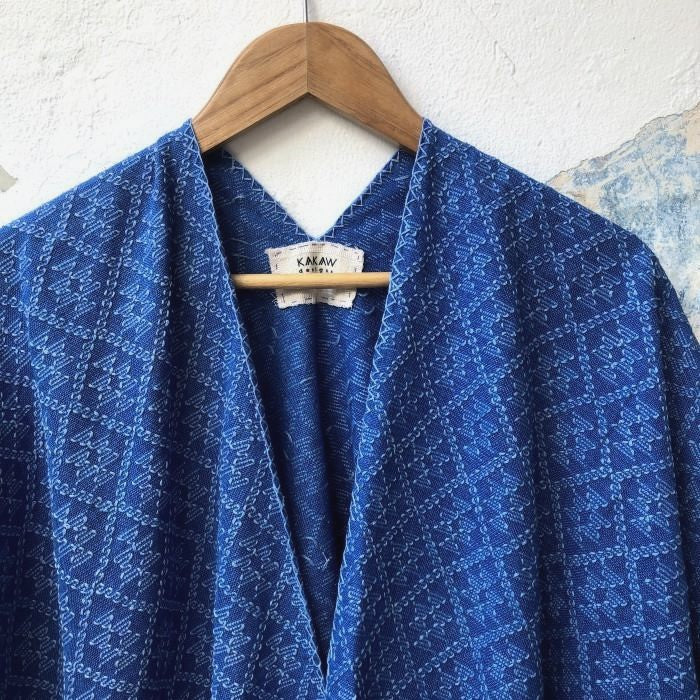 Summer Cardigan 4 in Light Indigo