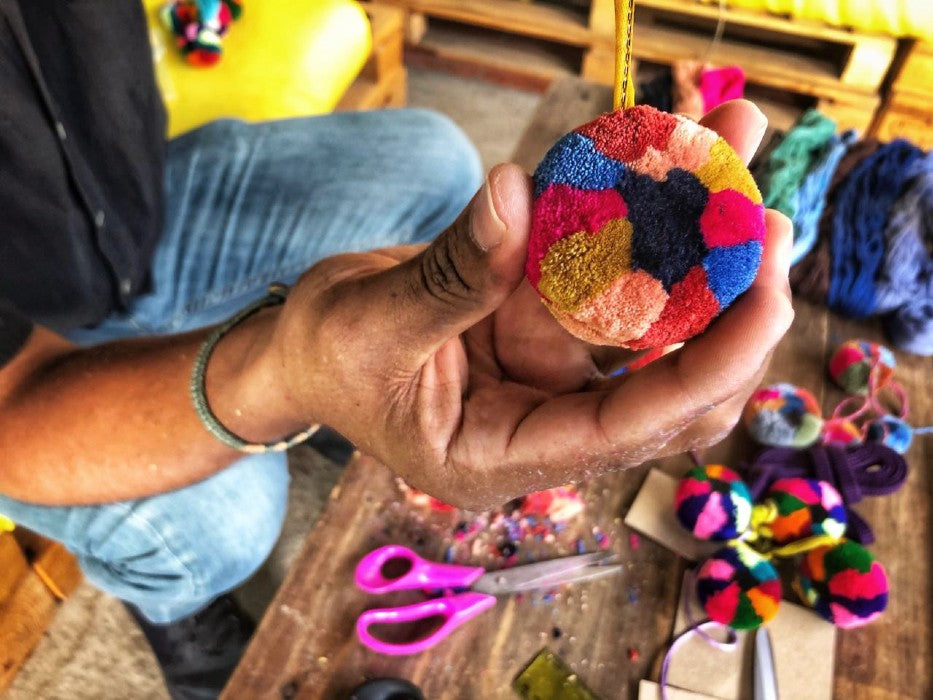 Chajul-style Pompom Making with Chato / Saturday May 1, 10-11am Guatemala time