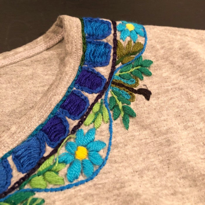 Decorate your own clothes! Embroidery with Claribel / Saturday June 5th, 10-11am Guatemala time