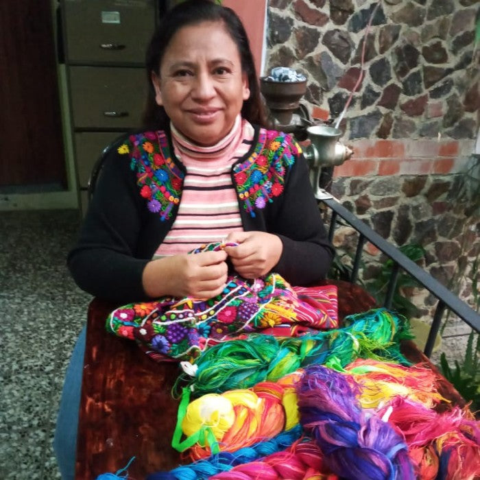 Randa Embroidery Class with Claribel / February 6, 3-4pm Guatemala time (2021)