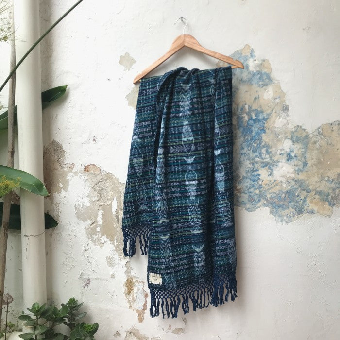 Corte Wrap 16: Blue and Green