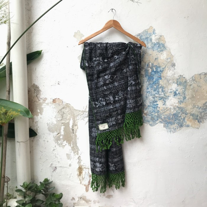 Corte Wrap 17: Black and Green