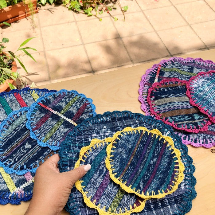 Set of Doilies - one large and two coasters